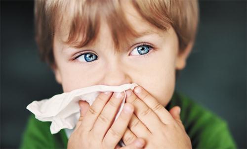 Закладеність носа у дітей